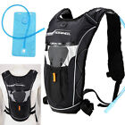 NEW 5L Hiking Hydration Pack Bike Cycling Shoulder Backpack with 2L Water Bag