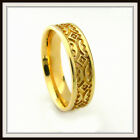 10 KT SOLID YELLOW GOLD CUSTOM MADE WEDDING BAND FOR MEN AND LADIES DT 0018