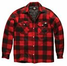 Dickies Portland Workwear Padded Lumberjack Work Casual Shirt Jacket S-XXXL