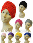 New Rosa Rosa VTG Retro Hollywood Glamour 1920's 1940s Style Turban Soft Hat