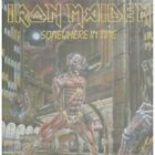 IRON MAIDEN Somewhere In Time CD Dutch Emi 8 Track Early Pressing With Green