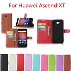 "For Huawei Ascend XT 6"" H1611 Magnetic Flip Leather Wallet Card Case Stand Cover"