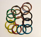 Coloured Metal Binding Rings 25mm Can be used with Tolsby Frames
