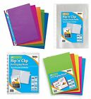 A4 Vivid Flexicover DISPLAY BOOK Folder Business Presentation Rip'n'Clip {Tiger}