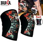 PixelCamo Knee Sleeve Powerlifting Weightlifting Patella Support Brace Protector