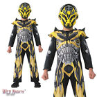 FANCY DRESS COSTUME ~ BOYS TRANSFORMERS 4 DELUXE BUMBLEBEE CHILD AGES 3-8 YEARS