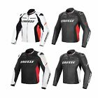 Dainese Racing D1 Cowhide Leather Motorcycle/Bike Riding Jacket