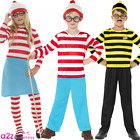 KIDS WHERES WALLY BOOK DAY WENDA ODLAW BOYS GIRLS FANCY DRESS SCHOOL COSTUME