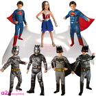 Batman Superman Wonder Woman Dawn Of Justice DC Kids Childs Fancy Dress Costume