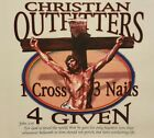 CHRISTIAN OUTFITTERS 1 CROSS 3 NAILS 4 GIVEN  JESUS #1115 POCKET SHIRT
