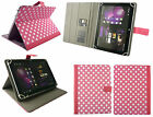 Universal Wallet Case Cover with Stand fits Linx 810 8 Inch Windows Tablet