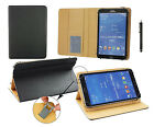"""Premium 7"""" - 8"""" Inch Pu Leather Multi Angle Wallet for Various Tablets & Stylus"""