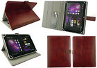 Universal Wallet Case Cover Stand fits Thomson TH-INT8W Prestige Tablet 8inch