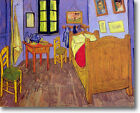 HUGE Van Gogh Vincent's Bedroom Stretched Canvas Giclee Art Repro ALL SIZES