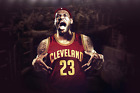 Cleveland Ciavalers King James NBA 3th Poster 11x17,  16x24,  24x36 inch