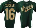 Minnesota Wild NHL Reebok Men's Green #16 'Zucker' Player T-Shirt $15.99 USD on eBay