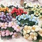 Wholesale Foam Plum Blossom5 10 50 Small Wedding Bouquet Party Gift Wreath Decor