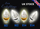 E14 B22 3W Led Light Bulbs High Power Light Warm/Day White Lamp UK Led Lamp