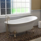 "Cambridge Plumbing 67"" x 31"" Clawfoot Soaking Bathtub"
