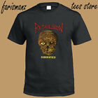New Repulsion Horrified Metal Band LogoMen's Black T-Shirt Size S to 3XL