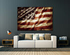 "Multiple panels,American Flag, Huge canvas print, wall art , up to 60""x40"","