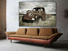 """Old Truck, Rusty Truck, Multi panel Canvas print, Huge canvas up to 60""""x40"""""""