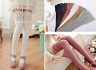 Women Cotton Leg Warmers Stockings Over Knee Socks Pantyhose Sock Thigh-Highs