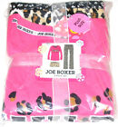 Joe Boxer 3pc Pajama Set WILD Adult size 1X, New w/tags