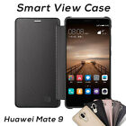 Ultra Slim Translucent Smart View Flip Case Cover for Huawei Mate 9
