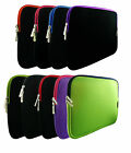 """Neoprene Zip Case Cover Sleeve for Various 9.7"""" to 10.1"""" Inch Tablet"""