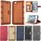 New Luxury Leather Flip Card Slot Wallet Case Cover For Apple iPhone 7 & 7Plus