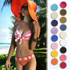 HOT Newest Women's Beach Floppy Sun Hat Cap Brim Folding Summer Wide Large Straw