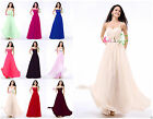 New Long Prom Dress Women's Dress Bridesmaid Dresses Formal Party Evening Gown