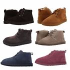 UGG Mens Neumel Chukka Boots Casual Fashion Shoes Suede Black Chestnut 3236