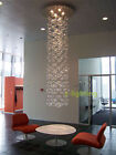 Any Height - Murano Due Bubble Glass Chandelier Suspension Light Pendant Lamp