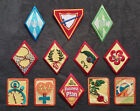 Girl Guide Brownie Scout Ranger Interest Proficiency Patches/ Badges - Choice E
