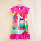 Kids Baby Flower Girl Dress Princess Pageant Wedding Party Summer Dresses 0-13 Y