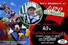 Mickey Mouse Club Birthday Invitation -  2 Designs CL01-CL02