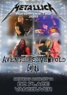 METALLICA WorldWired Tour: BC Place Vancouver - Aug 2017 PHOTO Print POSTER 053