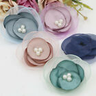 10/20pcs DIY Beautiful Flower No Clip For Hairpin/Shoes/Hat/Clothing accessories