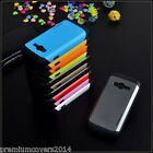 Slim Fit Hybrid Armor Dual Layer Bumper cum Back Case Cover Samsung Galaxy E7