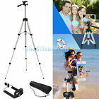 Professional Camera Tripod Stand Mount + Phone Holder for iPhone Samsung S8 S8+