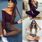 Fashion Women Casual Knitted Stretch Fit Long Sleeve 1PCS Sweaters Pullovers