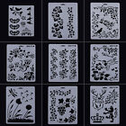 Layering Stencil Template DIY Wall Paint Scrapbook Photo Album Paper Cards Craft