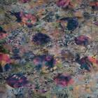 Hoffman Batik, Multicolor With Fish, Nature Print Cotton, BTHY or BTY
