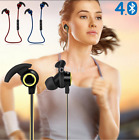 Bluetooth 4.1 Wireless Headphone Stereo Sports Earbuds In-Ear Headset Earphone