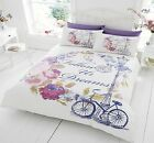 New Luxury Duvet Cover Bedding Set With Pillowcases Follow Your Dreams All Sizes
