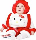 Italian Made Baby Girls Kitty Cat Cartoon Animal Book Fancy Dress Costume Outfit