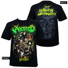 Authentic ABORTED Surgical Abomination RetroGore Album Art T-Shirt S-2XL NEW