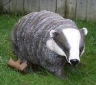 Lovely Badger Resin Outdoor Garden Ornament / Statue